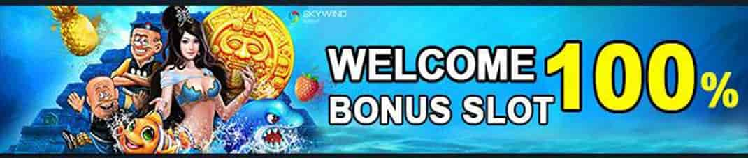 Welcome Bonus Slot 100%